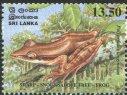 Endemic Amphibians - Ceylon & Sri Lanka - Mint Stamps