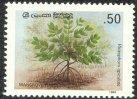 Mangrove conservation - Rhizophora apichlata - Ceylon & Sri Lanka - Mint Stamps
