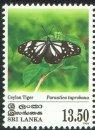 Butterflies - Ceylon Tiger - Ceylon & Sri Lanka - Mint Stamps