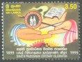 Centenary of Bhakthi Prabodanaya (religious magazine) - Sri Lanka used stamps